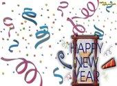 Souhaiter la bonne année vers de nouveaux horizons Fonds d'écran