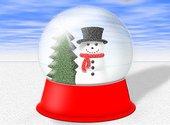 Boule de neige Fonds d'écran