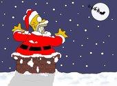 Homer Noël  Fonds d'écran