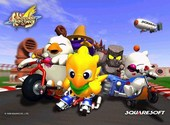 Chocobo racing Fonds d'écran
