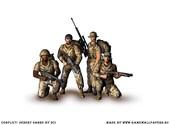Conflict Desert Sabre Fonds d'écran
