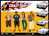 Crazy taxi Fonds d'écran