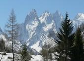 Massif du Mont-Blanc vers Chamonix Photos