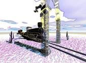 Une loco, un train... Ailleurs peut-être ! Dessins & Arts divers