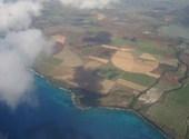 L'ile maurice vue du ciel Fonds d'écran