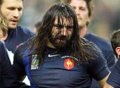 Chabal en pleure Photos