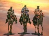 Hommes du desert Fonds d'écran