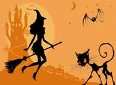 La jolie sorcière Fonds d'écran