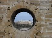 Vue sur essaouira (Maroc) à partir des remparts Fonds d'écran
