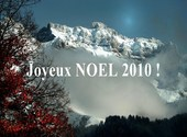 Noël 2010 à la montagne Fonds d'écran