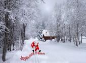 Noël 2012 Chamonix Fonds d'écran